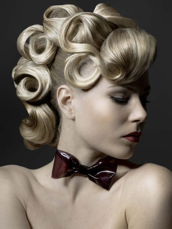 Beautiful Updo And Fringes On Pinterest