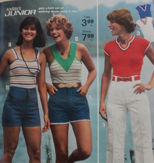 1973 Casual Knit Tops Tank Top V Neck Top Casual Knit Tops 70s Summer Fashion 70s Outfits