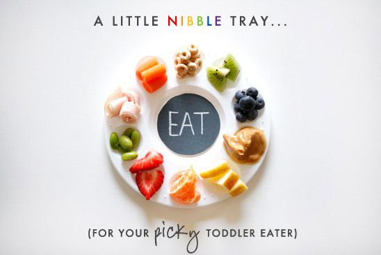 nibble tray for a picky eater