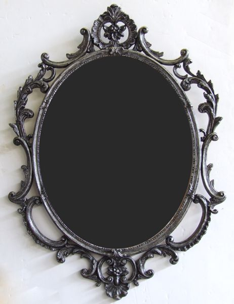 Gotta love the Victorian style, so very elegant.  I'd like to have Victorian with a mix of Gothic in my home some day.  The first step is to find a mirror like zis one!