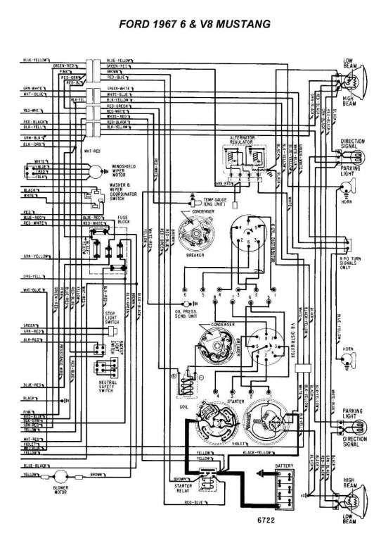 67 Mustang Engine Wiring Diagram And, 67 Mustang Wiring Diagram