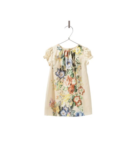 PRINTED DRESS - Dresses - Baby girl - New collection | ZARA United States
