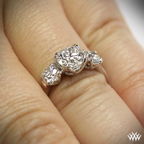 $1,236 *3 stone diamond engagement ring*    http://www.whiteflash.com/engagement-rings/three-stone/w-prong-3-stone-diamond-engagement-ring-914.htm