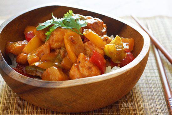 Thai Chicken and Pineapple Stir Fry