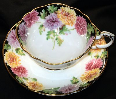 Paragon MUMS Colorful MumS simplyTclub Tea cup and saucer