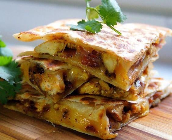 La quesadilla est une spécialité mexicaine également très consommé au Salvador…