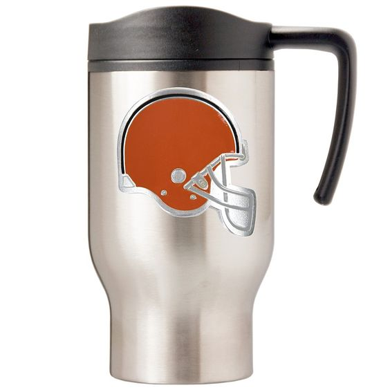 Cleveland Browns Stainless Steel Travel Mug