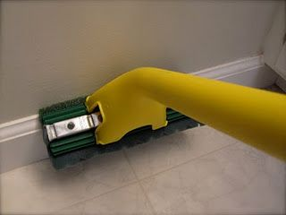 Clean Baseboards With The Mop Cleaning Tips Tricks