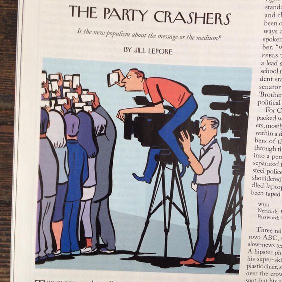 A recent drawing for @newyorkermag