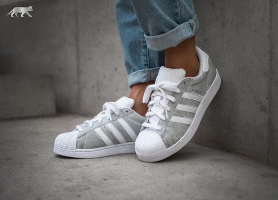 Adidas Superstar Metallic Silber