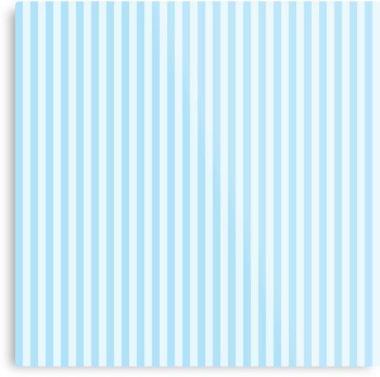 Baby Blue Stripes Metal Print By Newburyboutique Blue Wallpapers Striped Wallpaper Blue Stripes Blue striped wallpaper for bathrooms