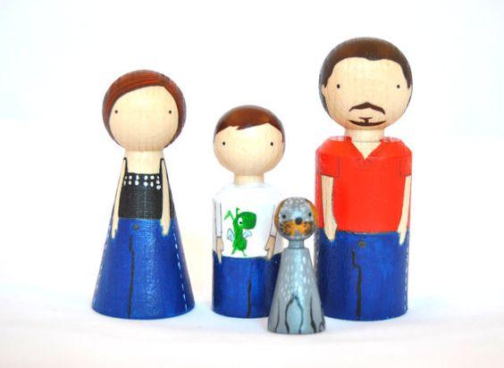 Figuras Personalizadas de Familia