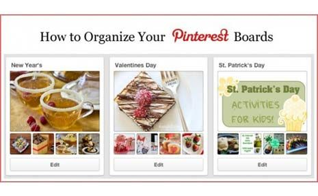 How to Organize Your Pinterest Boards by dcrmom