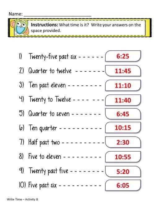 Telling Time Worksheets Time Worksheets Telling Time Worksheets 2nd Grade Math Worksheets