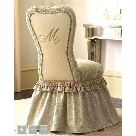Skirted Vanity Chair Vanity Chair Swivel Vanity Chair With Skirt Vanity Stool Swivel Casters Upholstered Skirted Vanity Chair Vanity Chair Decor Cool Chairs