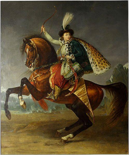 Antoine-Jean Gros - #Equestrian #portrait of prince Boris #Yusupov - Google Art Project (Pushkin Museum) Russia