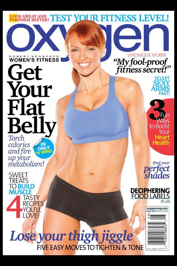 Oxygen Magazine August 2011
