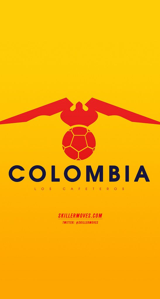 Colombia Phone Wallpaper Design Wallpaper For Your Phone Sport Poster