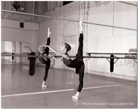 The Ultimate Ballet Line - Arabesque - and Other Extensions