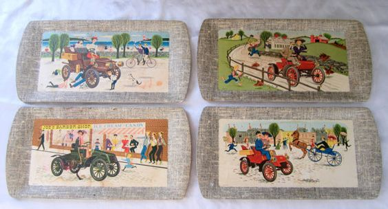 Deluxe Buffet Tray Kentley 1953 Food Lap Serving Auto by ddb7, $20.00