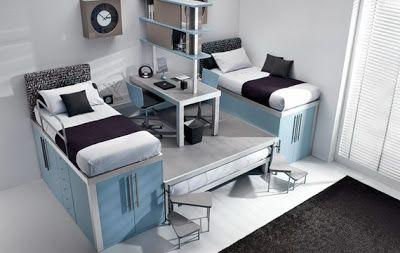 Lits superposés modernes pour les chambres dadolescents ~ Décor de Maison / Décoration Chambre
