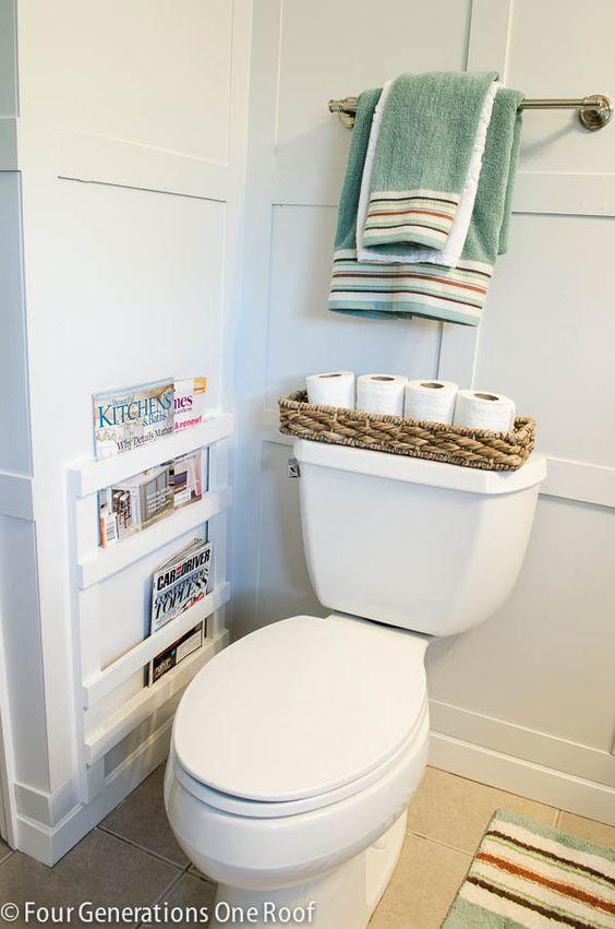 Bathroom Diy Magazine Rack Tutorial Toilets I Am And Tutorials