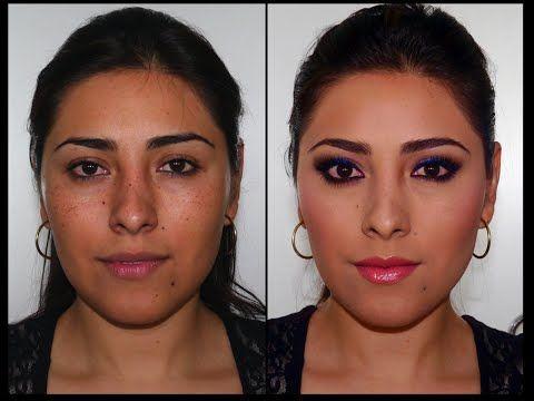 maquillaje para ojos negros marrones usando productos low cost youtube