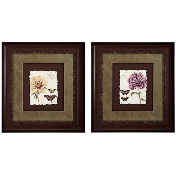 Floral II / IV Framed Art