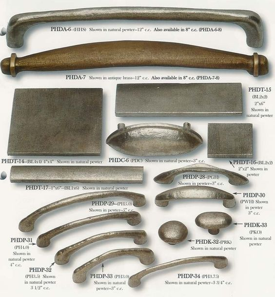Drawer pulls pewter and shaker style on pinterest - Shaker kitchen cabinet hardware ...