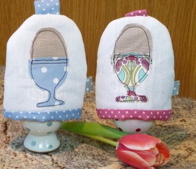 Personalised Egg Cup Egg Cosy