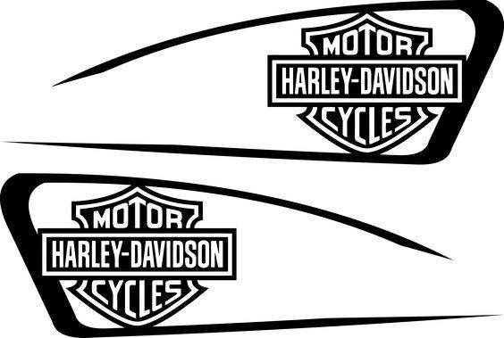 harley decals airbrush gas tank stencils vinyl | harley ...