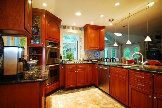 Refrigerator Cabinet Cabinet Refacing And Black Granite
