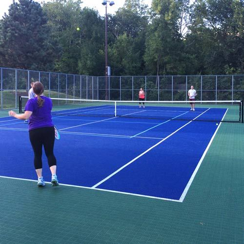 Tennis Court Tile Mt2 With Images Tennis Court Backyard Home