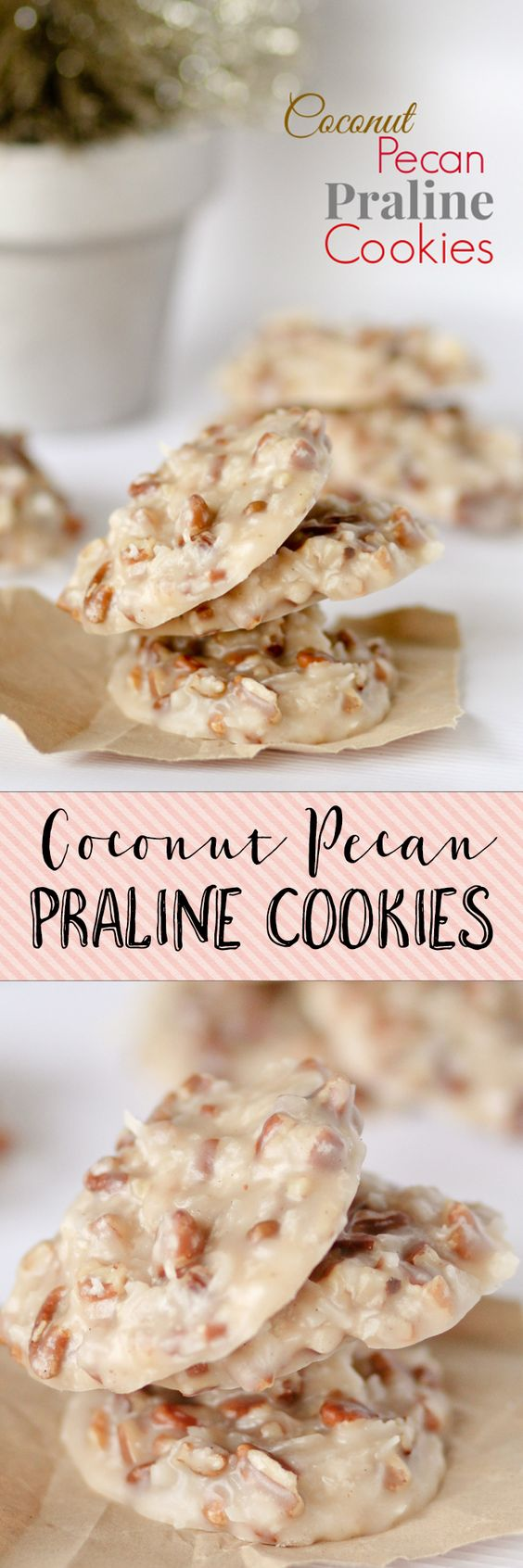 No Bake Coconut Pecan Praline Cookies. I GET SO MANY REQUESTS FOR ...