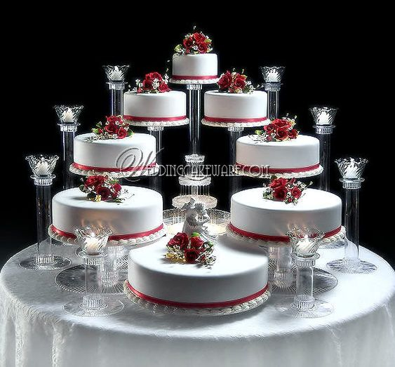 8 Tier Cascading Wedding Cake Stand Stands 8 Tier Candle