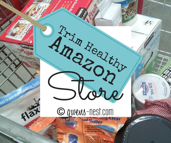 My Amazon affiliate Trim Healthy Mama store is where I keep track of my favorite on plan brands and products. Many with free super saver shipping!