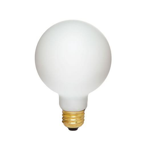 Led Light Bulb Frosted Large Globe In 2020 Led Light Bulb Bulb Led Bulb