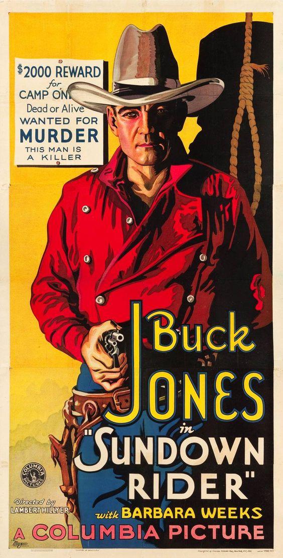 Sundown Rider Buck Jones