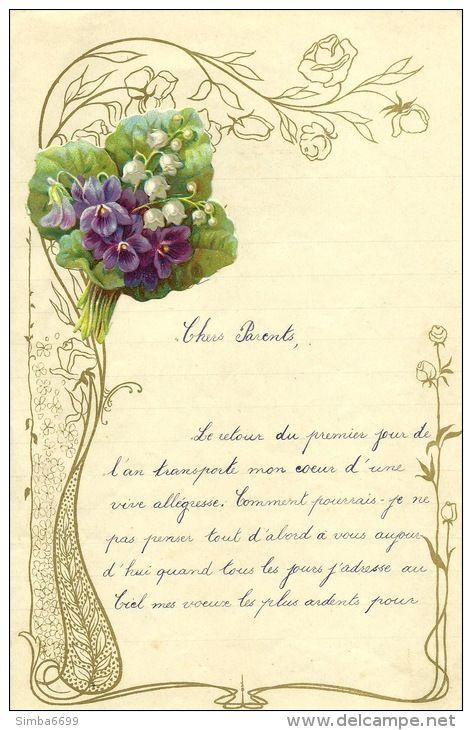 Vieux Papiers > Manuscrits / Chromo - Delcampe.net