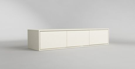 Hier sieht man ein maßgefertigtes Sideboard mit Push-2-Open-Technologie. Gefunden auf http://www.deinSchrank.de