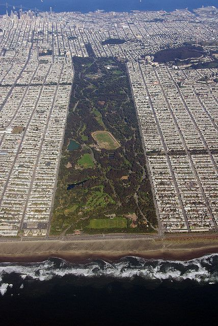 Golden Gate Park, San Francisco, CA-I remember hiking through the wooded areas here as a child...trying to get lost!