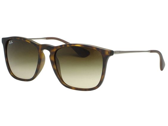 eb21e4676f Ray Ban RB4187 Chris 856 13 Matte Havana Sunglasses. Includes original  case