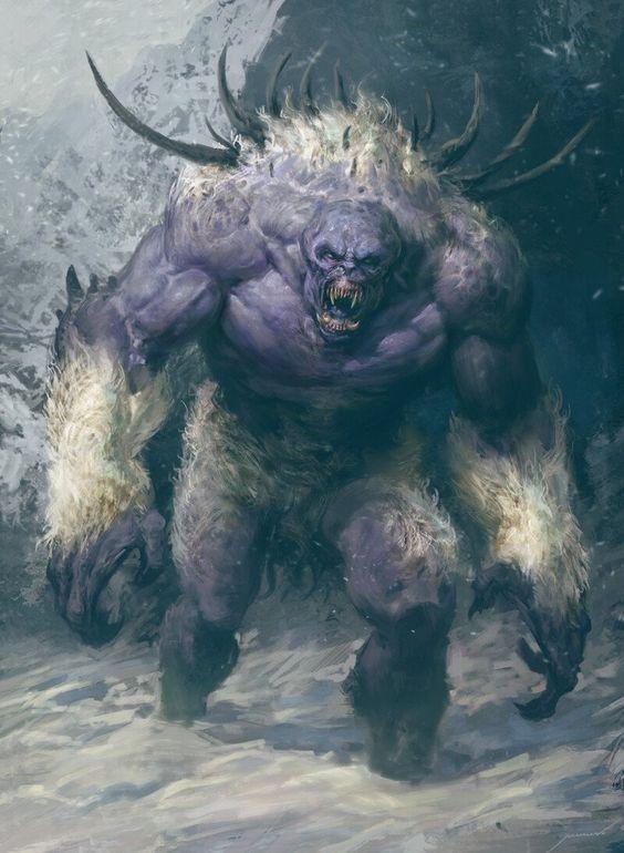 ArtStation - Snow Troll, Antonio J. Manzanedo