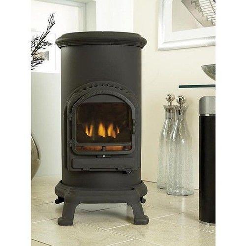 New Thurcroft Living Flame Flueless Calor Gas Stove