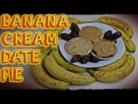 Banana Cream Date Pie Recipe | Raw Vegan from Bite Size Vegan