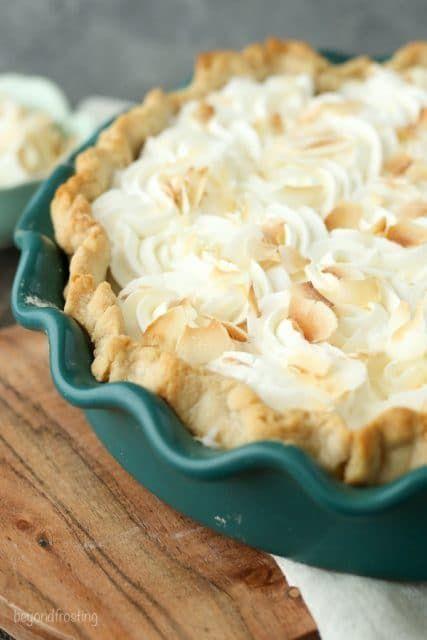 To Die For Coconut Cream Pie Recipe Coconut Cream Pie Recipes Coconut Cream Pie Cream Pie Recipes