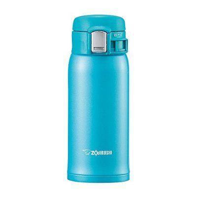 ZOJIRUSHI Stainless Steel Flask (360ml Capacity) Turquoise Blue SM-SC36-AV