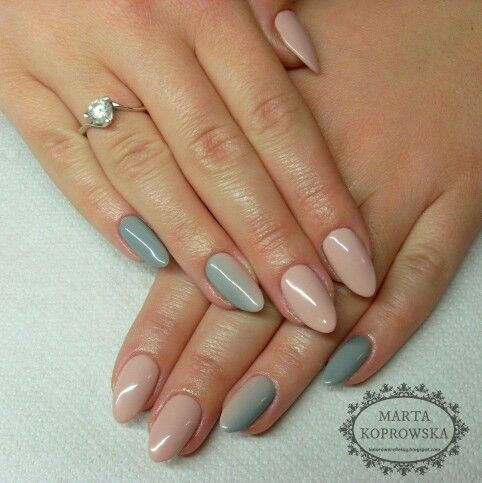 #snownails #greynails #grunge #ladyingray | Snow nails