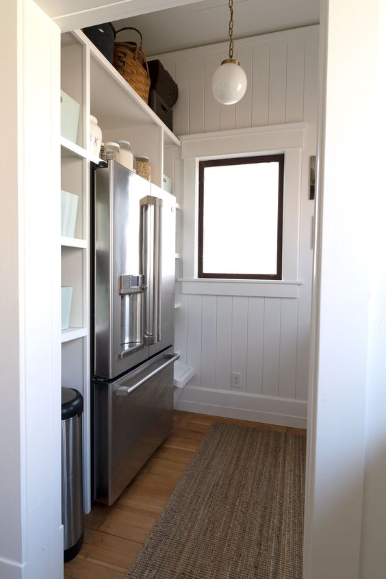 パントリー レイアウト 棚 使いやすい 冷蔵庫 I型 L型 U型