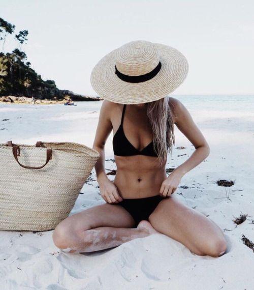 Better get the bikini body diet book out to go with this black bikini... #honeymoon